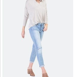 New Francesca Collection Distressed Jeans